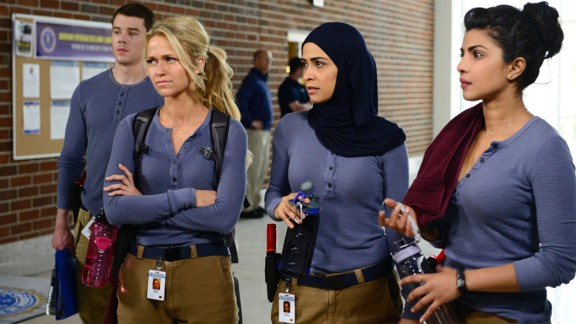 "New FBI recruits come to ""Quantico,"" but one of them may be behind a terrorist attack in ABC's new drama."