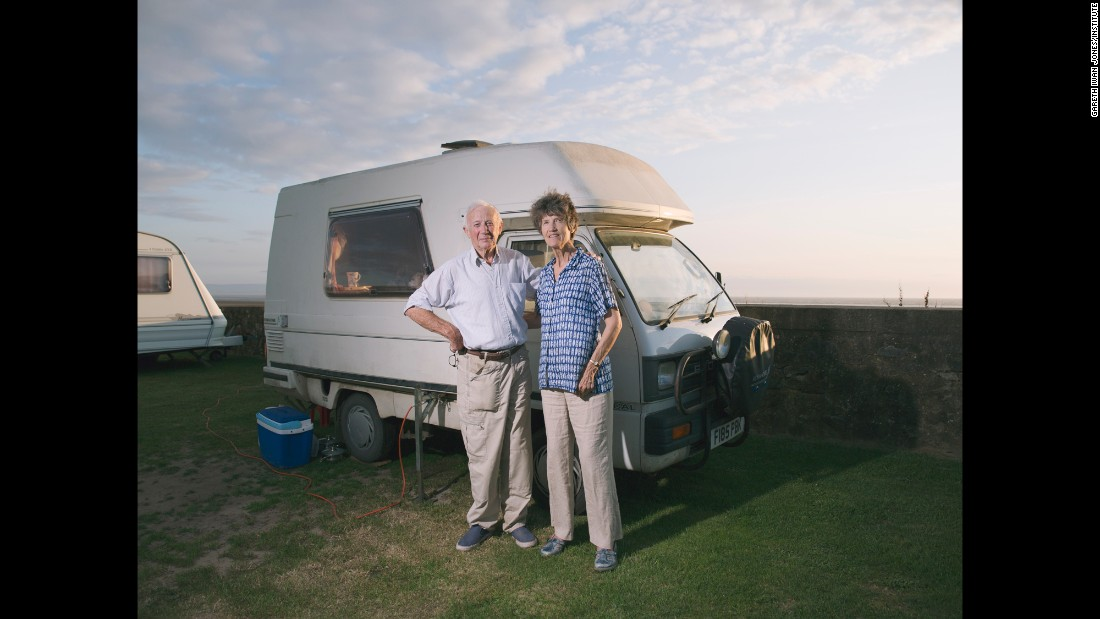 "Caravanning ""strips everything back a little bit,"" Jones said. ""It goes back to a simpler way of living, and that seems to be the appeal for a lot of people."""
