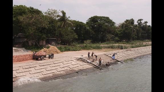The Meghna River in Dhaka.