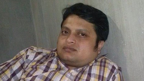 """The photo of """"Facebook/Ananta Bijoy Das"""" is being used under fair use guidelines. This means that you must write specifically to the clip, use only as much as is needed to make your editorial point, no use in promos, bumps or teases. Must font """"From Facebook"""". Please consult your assigned attorney if you have questions."""