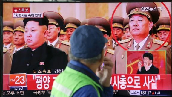 South Korean news reports the death of Hyon Yong Chol