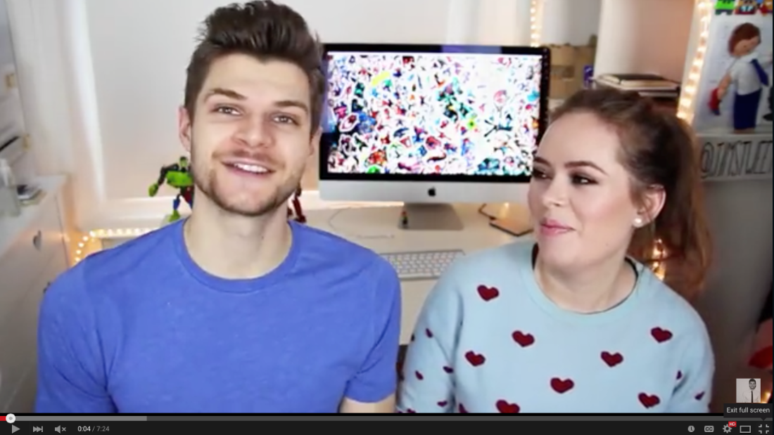 Vloggers are taking over the world with their entertaining videos,  which have been viewed by millions. Vlogging power couple Jim Chapman and Tanya Burr have amassed over 300 million views between them.