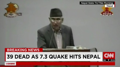 exp World Business Today, Muarli Kunduru, Nepal quake _00002001