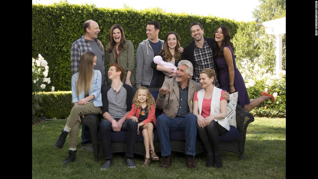 "Colin Hanks, back row center, leads an ensemble cast in CBS' comedy ""Life in Pieces,"" which will initally follow ""Big Bang Theory"" on Mondays before the shows move to Thursdays in November."