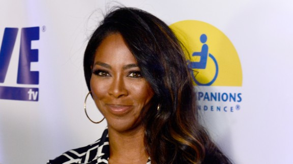 Kenya Moore attends an event on May 7 in Los Angeles, California.