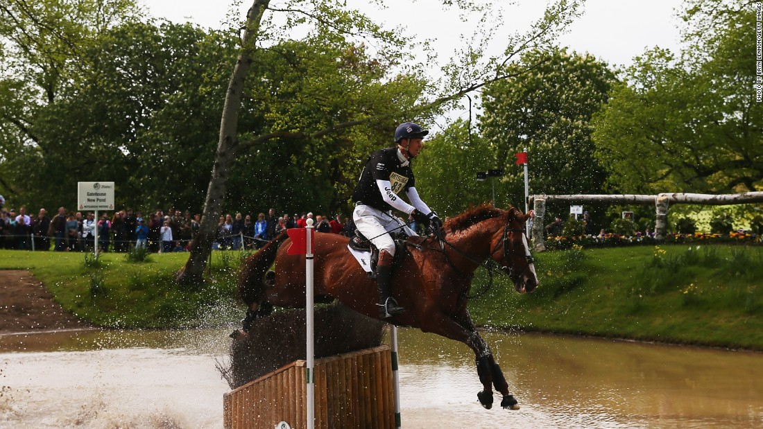 William Fox-Pitt of Great Britain made history by becoming the first rider to win one of eventing's six elite events on a stallion, on board 15-year-old Chilli Morning. It was the Englishman's second title, having also triumphed in 2004.