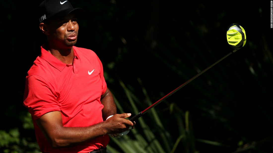 Wearing his traditional final-day red shirt, Woods closed with a mixed par-72 featuring a treble-bogey seven and five birdies as he finished tied for 69th.