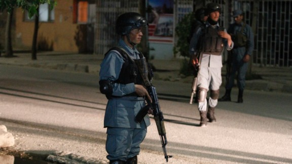It took five hours for Afghan special forces to kill the three men behind the attack.