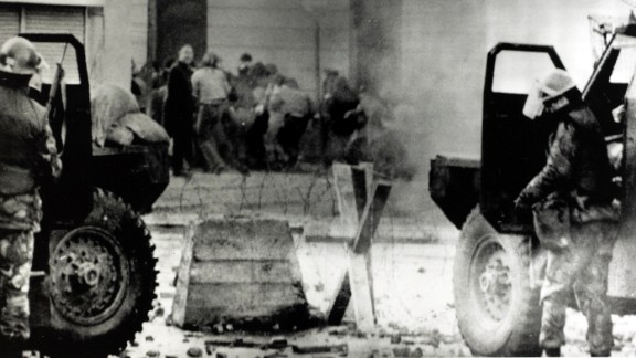 On January 30, 1972, British soldiers opened fire against protesters in Londonderry, Northern Ireland, who were marching against British rule. Thirteen people were killed on the scene, and more than a dozen were injured. After the shooting, recruitment and support for the Irish Republican Army skyrocketed. Three decades of violence known as The Troubles followed, and almost 3,000 people died.