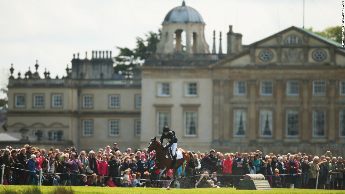 Hoards of people descended on the English county of Gloucestershire to watch the 2015 Badminton Horse Trials in May -- one of the most prestigious events on the equestrian calendar.