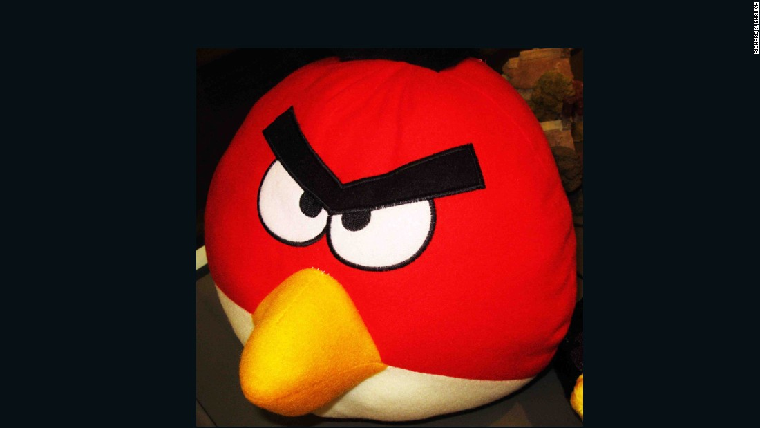"This imitation Angry Birds pillow shows how some people ""just change the way they use their skill for producing handicrafts, to producing counterfeit products,"" says intellectual property lawyer Suebsiri Taweepon."