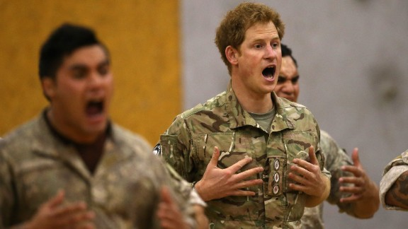 PALMERSTON NORTH, NEW ZEALAND - MAY 13: Prince Harry takes part in