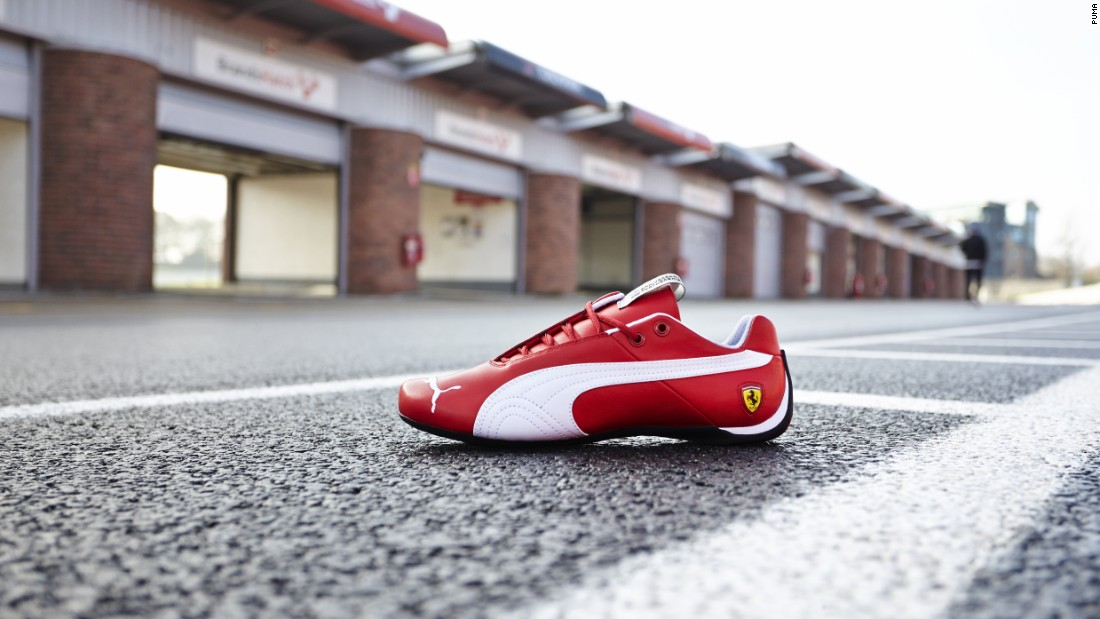 Puma estimates it provides 700 Mercedes and Ferrari staff with team kits, including shoes in team colors.