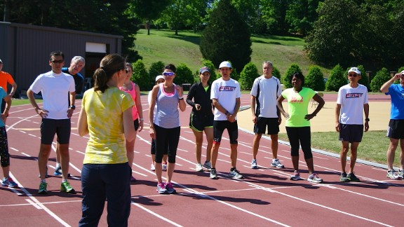 The FIRST Adult Running and Learning Retreat happens in early June in Greenville, South Carolina.