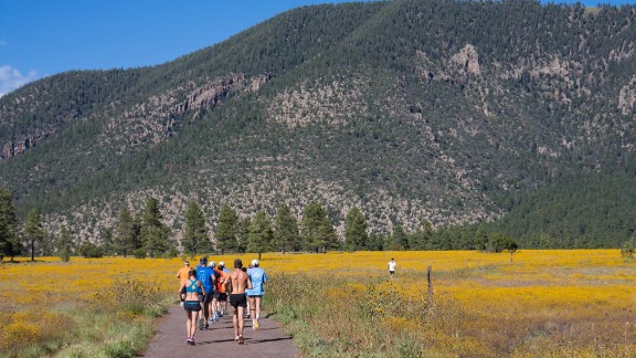 The McMillan Running Getaway happens in early June and early October in Flagstaff, Arizona.