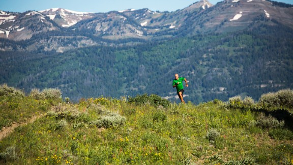 The Cool Impossible Run Camp occurs in mid-August and mid-September in Jackson Hole, Wyoming.