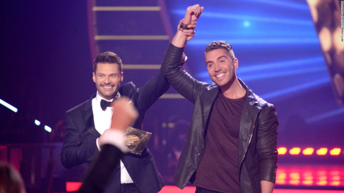 "Seacrest, left, named Nick Fradiani the winner of season 14 of ""American Idol"" in May 2015. While his single ""Beautiful Life"" was <a href=""http://fox13now.com/2015/05/14/american-idol-winner-fradiani-to-sing-official-song-for-fox-fifa-womens-world-cup/"" target=""_blank"">the official theme for the seventh FIFA Women's World Cup</a>, his 2016 album ""Hurricane"" didn't generate much energy. He parted ways with his record label last year and is currently an indie artist."