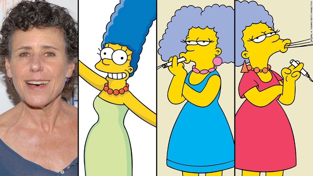 Julie Kavner is Marge Simpson and Marge's sisters, the scourges of the Springfield DMV, Patty and Selma Bouvier.
