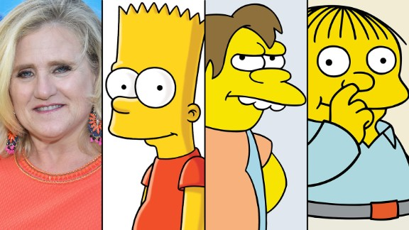 Nancy Cartwright gives voice to Bart Simpson, Nelson Muntz and Ralph Wiggum, as well as others.