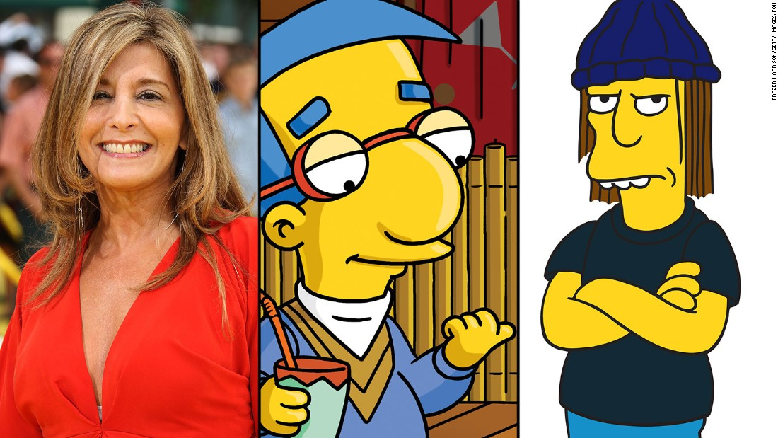 Pamela Hayden gives voice to two boys on opposite ends of the charm spectrum: Milhouse Van Houten and Jimbo Jones. She's also the person behind Rod Flanders, Janey Powell and Malibu Stacy.