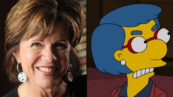 Maggie Roswell is the voice of Milhouse