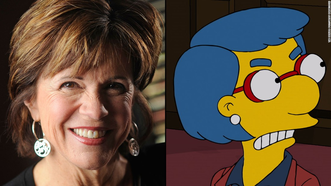 Maggie Roswell is the voice of Milhouse's mother, Luann, as well as such figures as Helen Lovejoy and the late Maude Flanders.