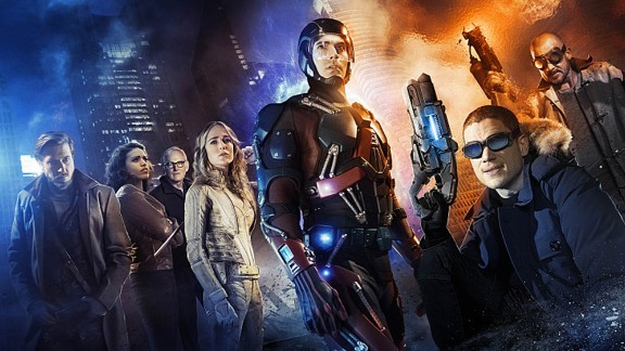"Brandon Routh, Victor Garber, Arthur Darvill and Wentworth Miller star in the CW's new superhero series ""Legends of Tomorrow,"" a spinoff of ""Arrow"" and ""The Flash."""