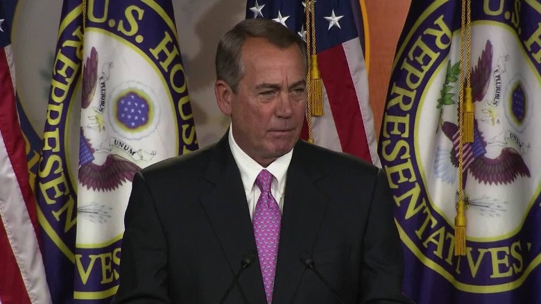 Boehner erupts at reporter's 'stupid question' on Amtrak funding