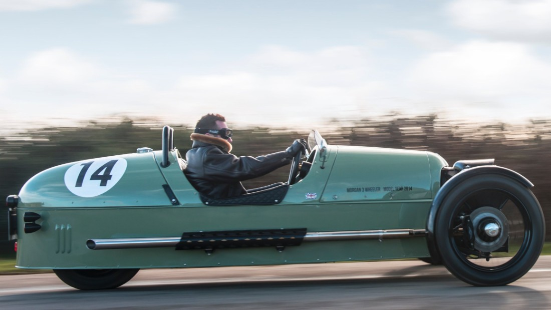 Beautiful retro cars sell vintage British cool to the world