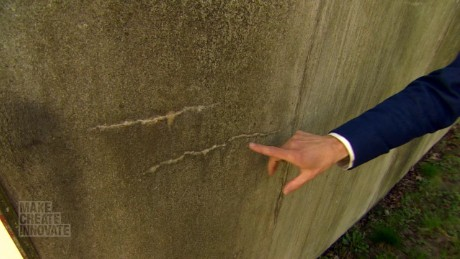 Concrete that can heal itself