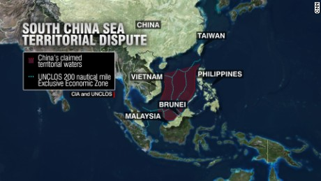 China: South China Sea island building 'almost complete' - CNN