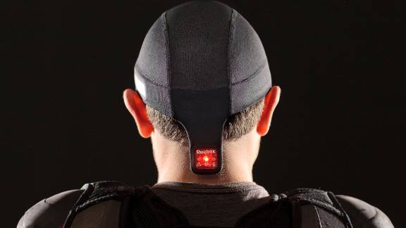 Reebok are using an adapted sensor to measure the severity of sporting impacts.