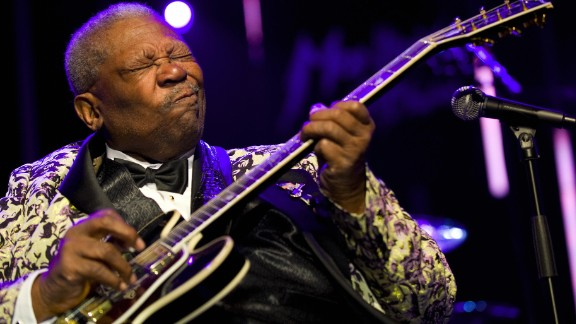 Blues legend B.B. King, who helped bring blues from the margins to the mainstream, died May 14 in Las Vegas, according to his daughter Patty King. Two weeks earlier, it was announced that King was in home hospice care after suffering from dehydration. He was 89.