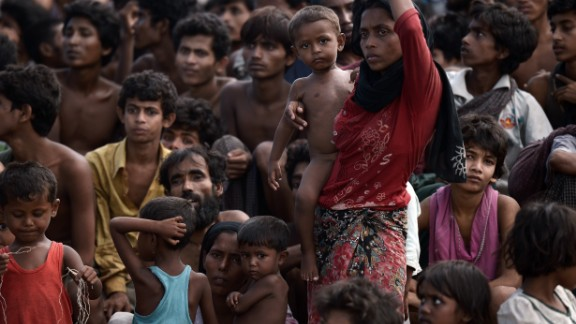 More than 1,600 migrants -- both Rohingya and economic migrants from Bangladesh -- have landed in Malaysia and Indonesia since Sunday, May 10, officials say, after Thai officials began cracking down on human trafficking camps operating in the country