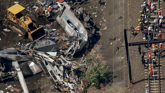Amtrak train derailment, May 2015.