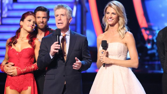 """""""Dancing With The Stars, """"The Amazing Race,"""" """"American Ninja Warrior, """"Project Runway,"""" """"Top Chef"""" and the """"The Voice"""" were nominated for outstanding reality-competition program."""