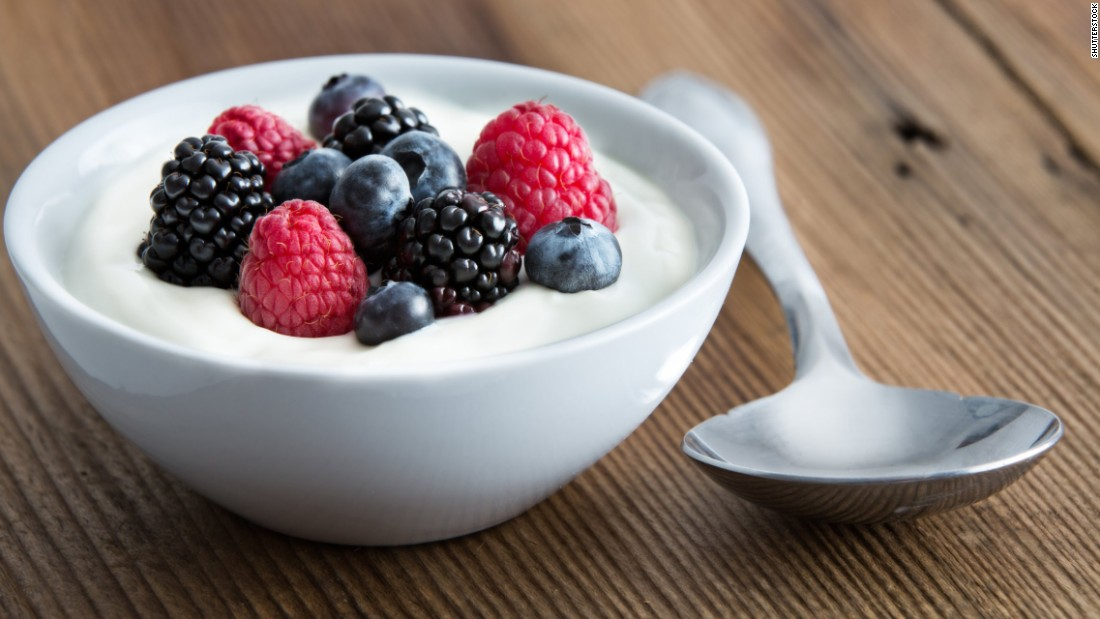 Many yogurts contains live active bacterial cultures, or probiotics, that replenish the good bacteria in your gut.
