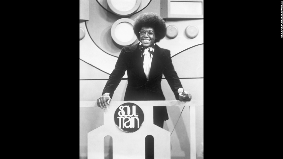 "On October 2, 1971, music showcase ""Soul Train"" made the transition from local Chicago TV to national syndication. The show was considered by many to be the ""black 'American Bandstand,' "" popularizing R&B acts as well as African-American fashion and dance moves. Creator and producer Don Cornelius hosted the show from its debut until 1993."