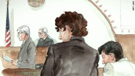 Families of Boston bombing victims react in court
