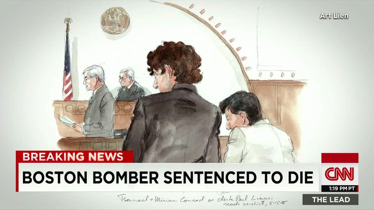 Hogerextrem text hos bostonbombare