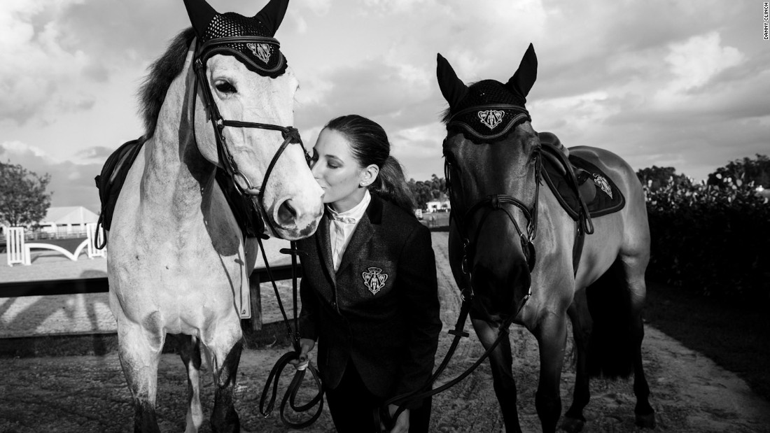 Jessica Springsteen is pushing for Olympic selection in the U.S. showjumping team after completing school at Duke University.