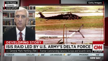 U S  Army's Delta Force led raid on ISIS