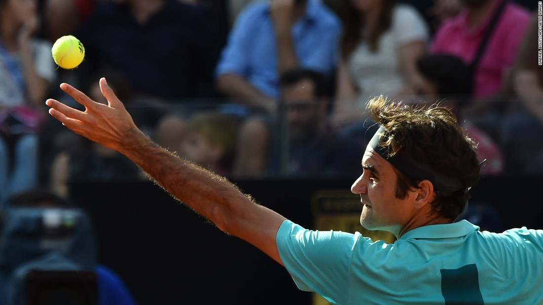 Federer is one of only two men to defeat Djokovic in 2015.