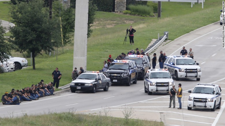 Police report multiple fatalities in Texas shooting