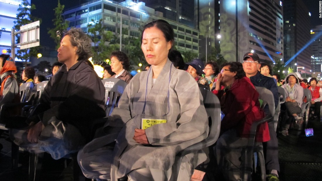 While Buddhism is one of the largest religions in South Korea, it is actively discouraged by the North Korean government.