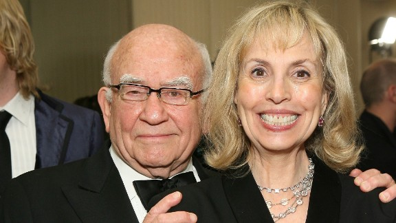 Actor Ed Asner has reportedly filed for divorce from wife Cindy Gilmore eight years after the couple first split. The pair married in 1998 and separated almost a decade later.