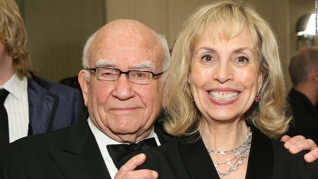 "Actor Ed Asner <a href=""http://www.people.com/article/ed-asner-files-divorce-8-years-after-separating-wife"" target=""_blank"">has reportedly filed for divorce</a> from wife Cindy Gilmore eight years after the couple first split. The pair married in 1998 and separated almost a decade later."