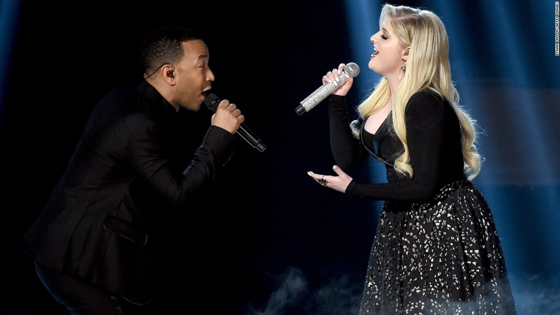 John Legend and Meghan Trainor