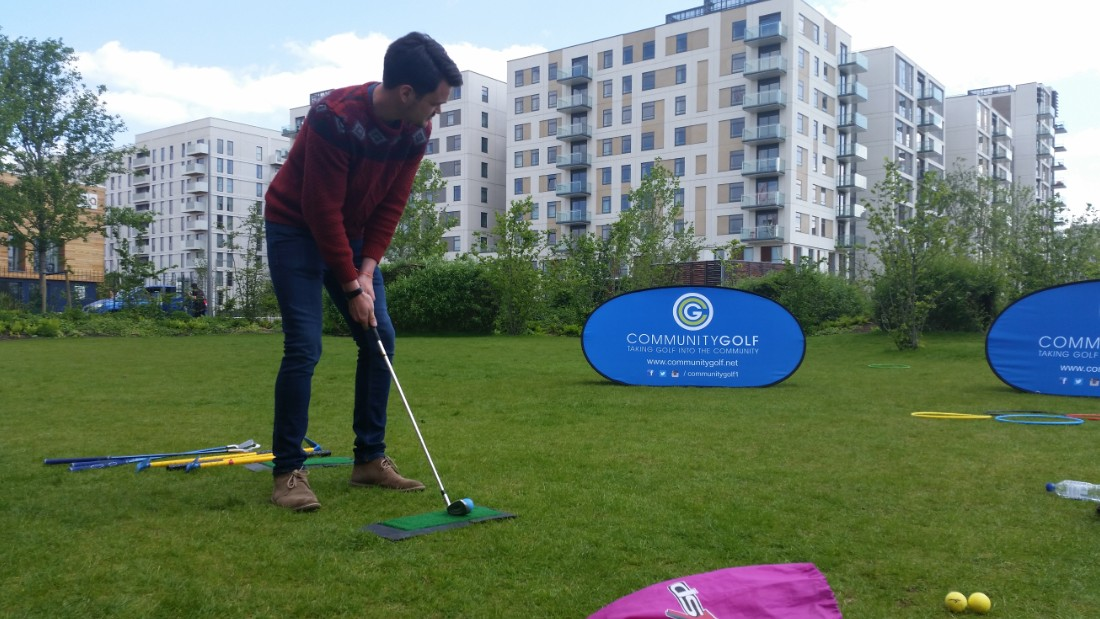 Over 120 people attended the European Urban Golf Cup in London -- more than double the 56 that participated in the first event in Paris two years ago.