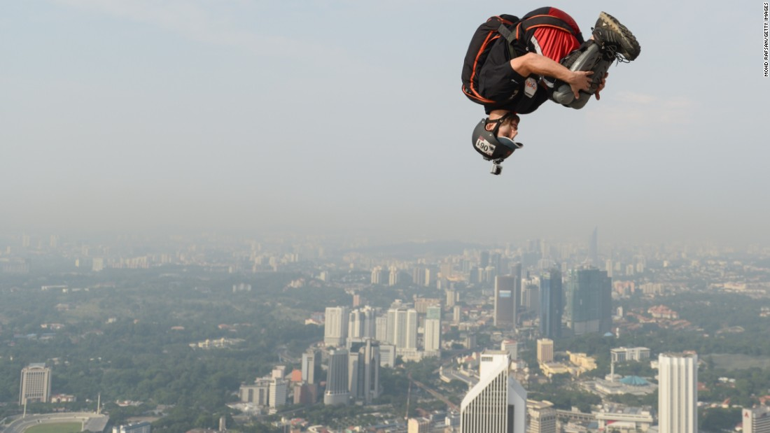 Extreme sports such as BASE jumping allow those taking part to experience a rush of adrenaline like any other, according to those brave enough to try.